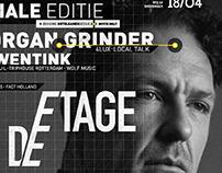 DE ETAGE w/ THE ORGAN GRINDER