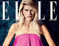 ELLE Cover story Jan 2015 - May Andersen
