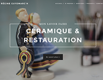 RESTAURATION DE FAIENCE WEBDESIGN