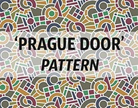 Prague door pattern