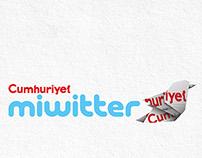 Cumhuriyet Newspaper MIWITTER (SCHMITTER)
