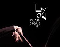 L'identité visuelle du festival Lyon classique