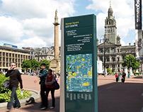 Glasgow Pedestrian Wayfinding System