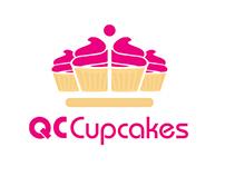 QC Cupcake Logo Design
