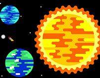 Infografía Sistema Solar