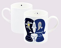 Loveramics x Calvin Ho Mug Set