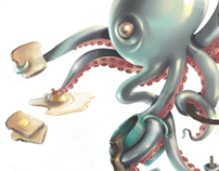 Octopus Digital Coloring