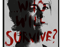 "T-Shirt - CAROL from #TWD ""Who Will Survive?"" Fan Art."