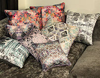 Lavender Season - Printed Cushions