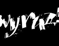 Wyraz! lettering