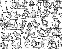 Gaviotas Doodle