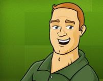 Junk Hunk Caricature