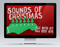 Digital Signage: Sounds of Christmas