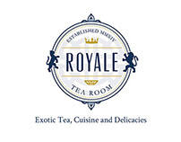 Royale Tea Shop Branding Project