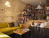 Loft Apartment by Alex Bykov