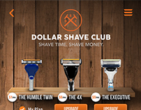 Dollar Shave Club Mobile App