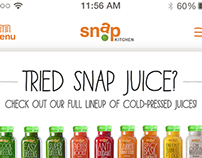 SNAP Kitchen Mobile app