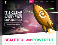 Clarus Agency Site redesign