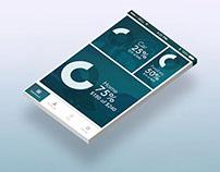 Budget app dashboard concept