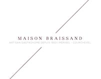 MAISON BRAISSAND | Dépliant 3 volets