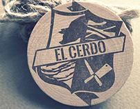 El Cerdo - Branding e Rótulo