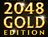 2048 Gold Edition - Mobile Game