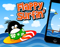 Flappy Surfin' - Mobile Game