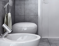 Grey Bathroom LL-02
