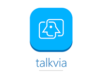 Talkvia Social App Design