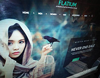 Flatium - Fresh & Flat Ecommerce PSD Template
