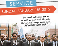 Dr. Martin Luther King Jr. Service 2015