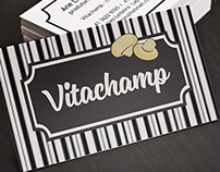 Vitachamp - Identidade visual e Rótulo