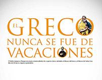El Greco nunca tuvo vacaciones