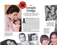 Diagramação / Revista Contigo!