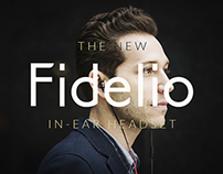 Concept Website | Philips Fidelio in-ear headphones