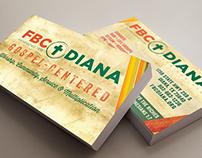 Handout Cards for FBC Diana