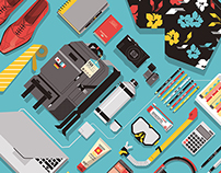 Editorial illustration projects III