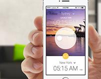 TimeZone app concept - Mobile