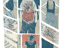 FLORIST - Comic publication