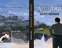 Shards of Asunder Cover Illustration, Logo and Layout