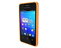Alcatel_Modelado HardSurface phone