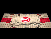 Atlanta Hawks Court Projection