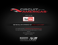 Formula One Circuit of the Americas website v1 2011