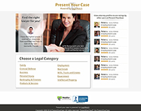 Website Visual Improvement - PresentYourCase.com