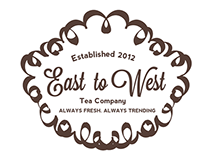 Logo & Package Design: East to West Tea Company
