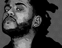 The Weeknd Portrait