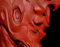 Ember Helmet, Digital sculpt