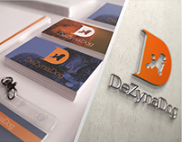 Dezynadog - Rebranding and stationery