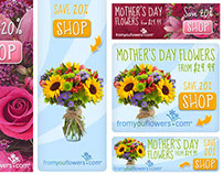 Banner Design :: From You Flowers Mother's Day