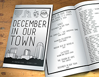 Playbill: Downtown School Holiday Play 2014